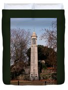 Mayflower Memorial Southampton England Duvet Cover