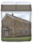 Maysville Schoolhouse Duvet Cover