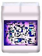 Maze Duvet Cover