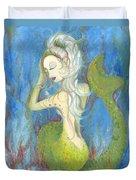 Mazzy The Mermaid Princess Duvet Cover
