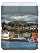 Mccaig's Tower At Oban Duvet Cover