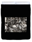 Mccormick Mansion Staircase Duvet Cover