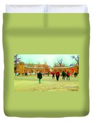 Mcgill Univ Students And Faculty College Campus Montreal Memories Collectible Art Prints C Spandau Duvet Cover