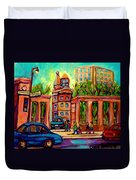 Mcgill University Roddick Gates Montreal Duvet Cover
