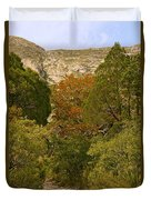 Mckittrick Canyon Trail Duvet Cover