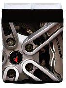 Mclaren Wheel Emblem Duvet Cover