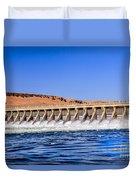 Mcnary Dam Duvet Cover by Robert Bales