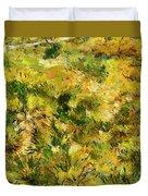Meadow After Van Gogh Duvet Cover
