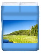 Meadow And Forest Duvet Cover