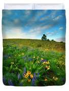 Meadow Gold Duvet Cover
