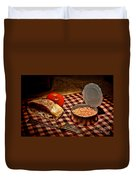 Meager Lunch Duvet Cover