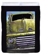 Mean Green Ford Truck Duvet Cover