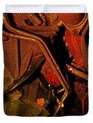 Mechanical Piping Jlb Duvet Cover