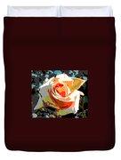 Medallion Rose Duvet Cover