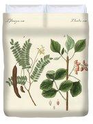 Medicinal Plants Duvet Cover