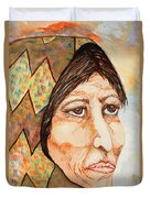 Medicine Woman Duvet Cover