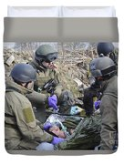 Medics Of The British Special Forces Duvet Cover