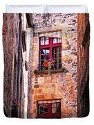 Medieval Architecture Duvet Cover