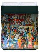 Medieval Banquet Duvet Cover