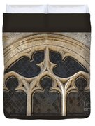 Medieval Church Window Ornaments Duvet Cover