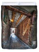 Medieval Doorway Duvet Cover