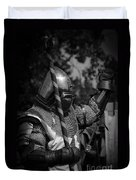 Medieval Faire Knight's Victory 1 Duvet Cover