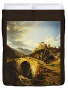 Medieval Landscape Duvet Cover