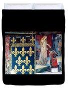 Medieval Tapestry Duvet Cover by France  Art
