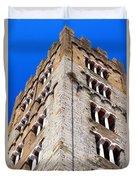 Medieval Tower Duvet Cover
