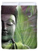 Meditation Vegetation Duvet Cover