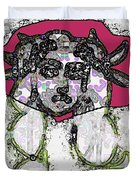 Medusa Looking Through Duvet Cover