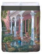 Meeting Street Inn Charleston Duvet Cover by Richard Harpum