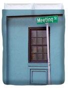 Meeting Street Duvet Cover