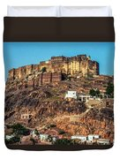 Mehrangarh Fort Duvet Cover