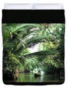 Mekong Delta Backwater 01 Duvet Cover