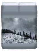 Melancholia Pines And Trees Duvet Cover