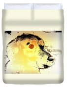 Feeling Like The Most Melancholic Dog In The World  Duvet Cover