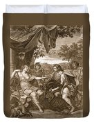 Meleager Presents The Boars Head Duvet Cover