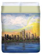 Melisa's Sunrise Duvet Cover