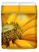 Mellow Yellow Duvet Cover