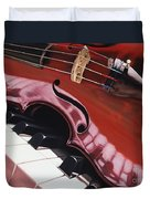 Melodic Reflections Duvet Cover