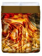 Melting Gold Duvet Cover