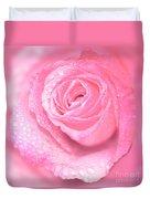 Melting In Pink Duvet Cover