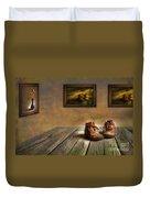 Mementos Exhibition Duvet Cover