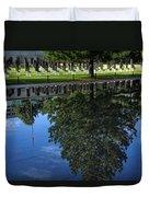 Memorial Reflecting Pool Duvet Cover