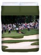 12w192 Memorial Tournament Photo Duvet Cover
