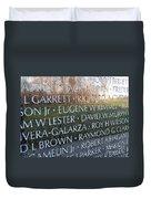 Memorialized Duvet Cover