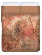 Memories Of Autumn Duvet Cover