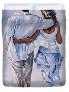 Memories Of Love Duvet Cover