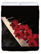 Memories Of The Music Lovers - Vintage Style Duvet Cover